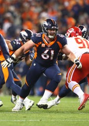 Denver center Matt Paradis could be a target for the Bills in free agency.