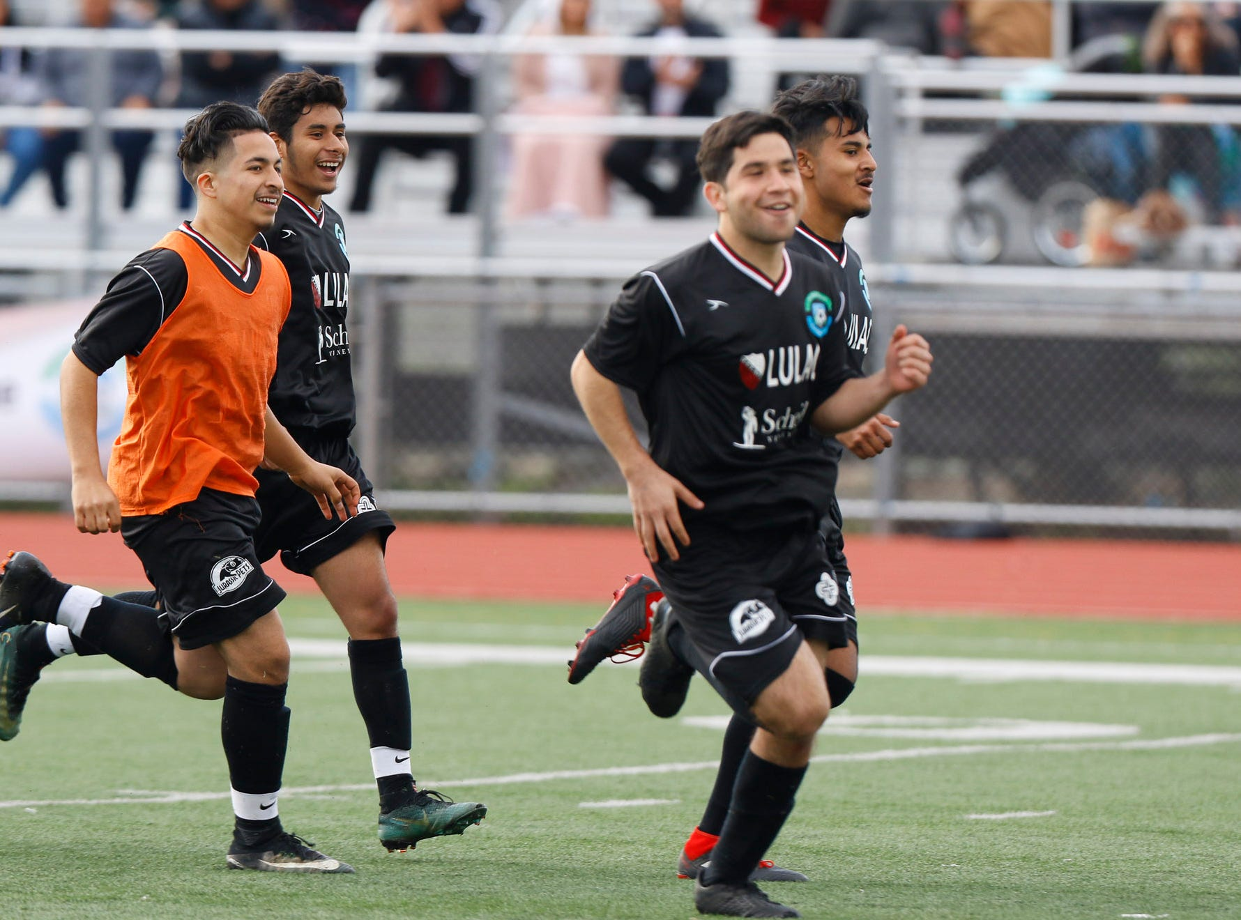 High schoolers from various schools in Monterey County participate in the annual Monterey County's Greatest All-Star Classic at Alisal High School on Sunday, March 10, 2019 in Salinas, Calif.