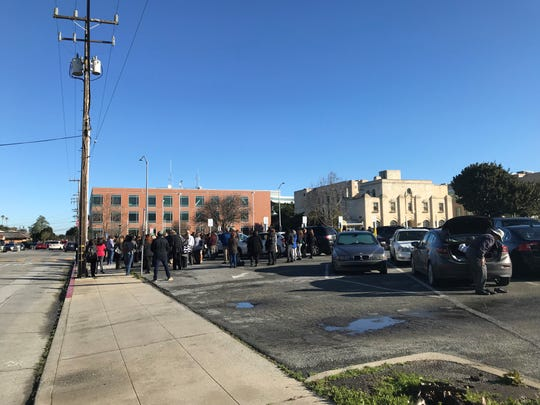 The Monterey County administrative office, district attorney's office and super court in Salinas were evacuated early Monday.