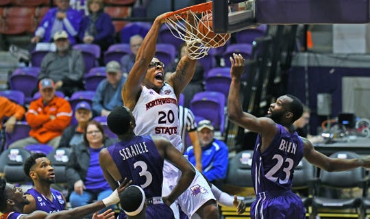 Northwestern State's Ishmael Lane was named the Southland Defensive Player of the Year.