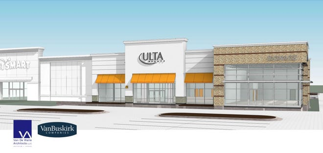Rendering of Ulta Beauty and the Dawley Apex
