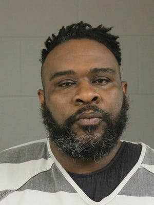 Christopher Lee Adams, 40, is charged with second-degree murder and first-degree manslaughter in the stabbing death of a man in Sioux Falls on Sunday, March 10, 2019.