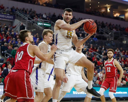Guard John Konchar (55) from Purdue Fort Wayne is signing a two-way contract with the Grizzlies, per ESPN.