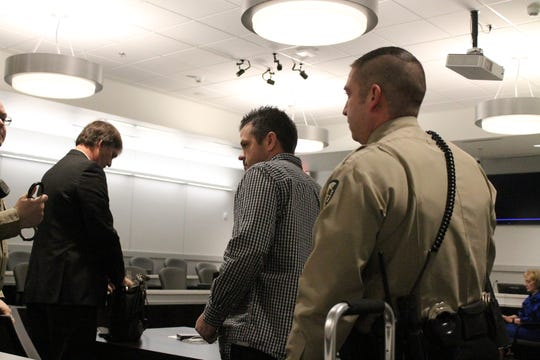 Beau Gormley appeared in court Monday in Christian County.