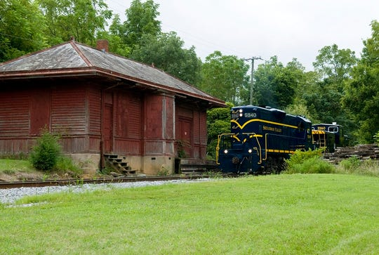 Fort Defiance train depot will be relocated to Valley Pike Farm Market in Weyers Cave to serve as an event venue.