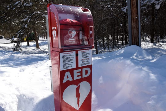The outdoor AED in Sartell's Pine Point neighborhood was the first of its kind in Minnesota.