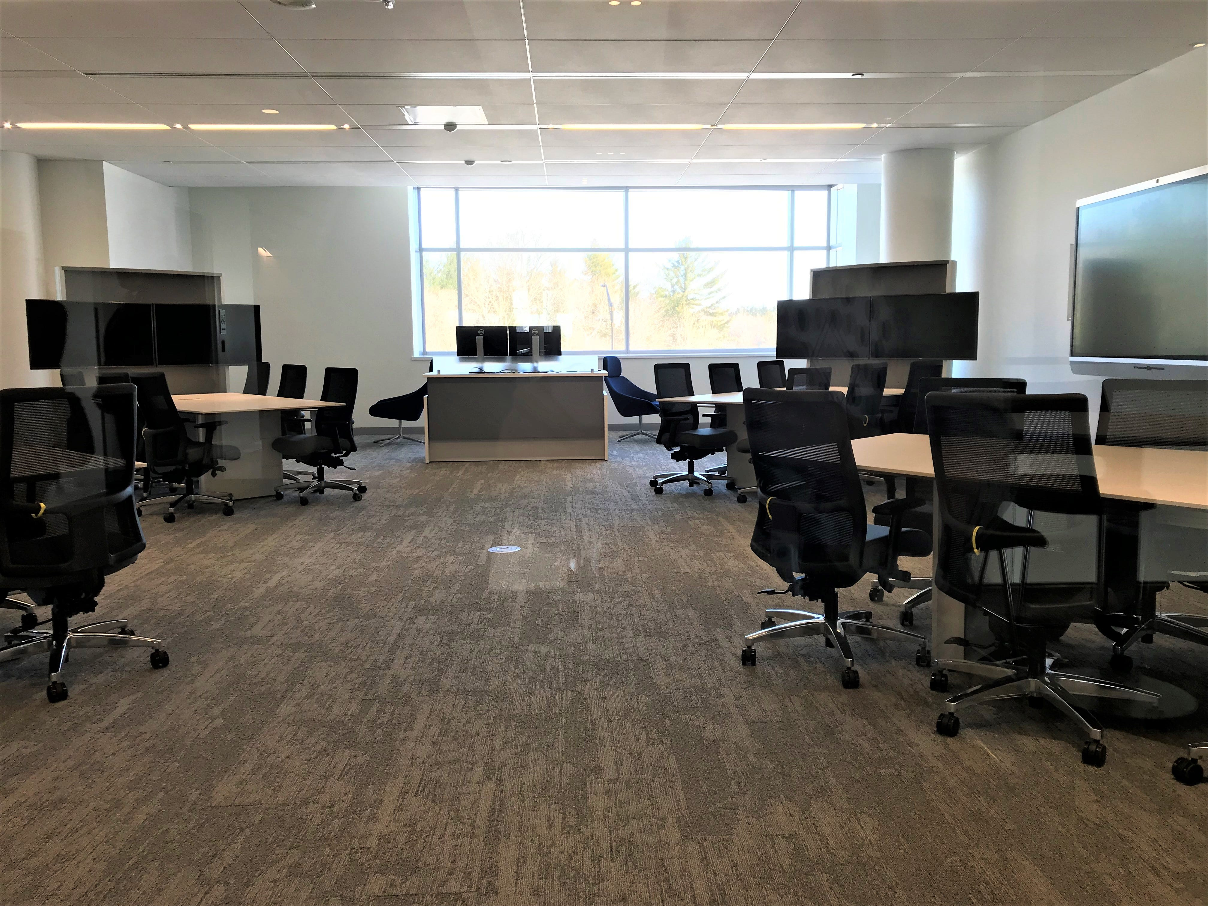 Shared work space in Sentry Insurance