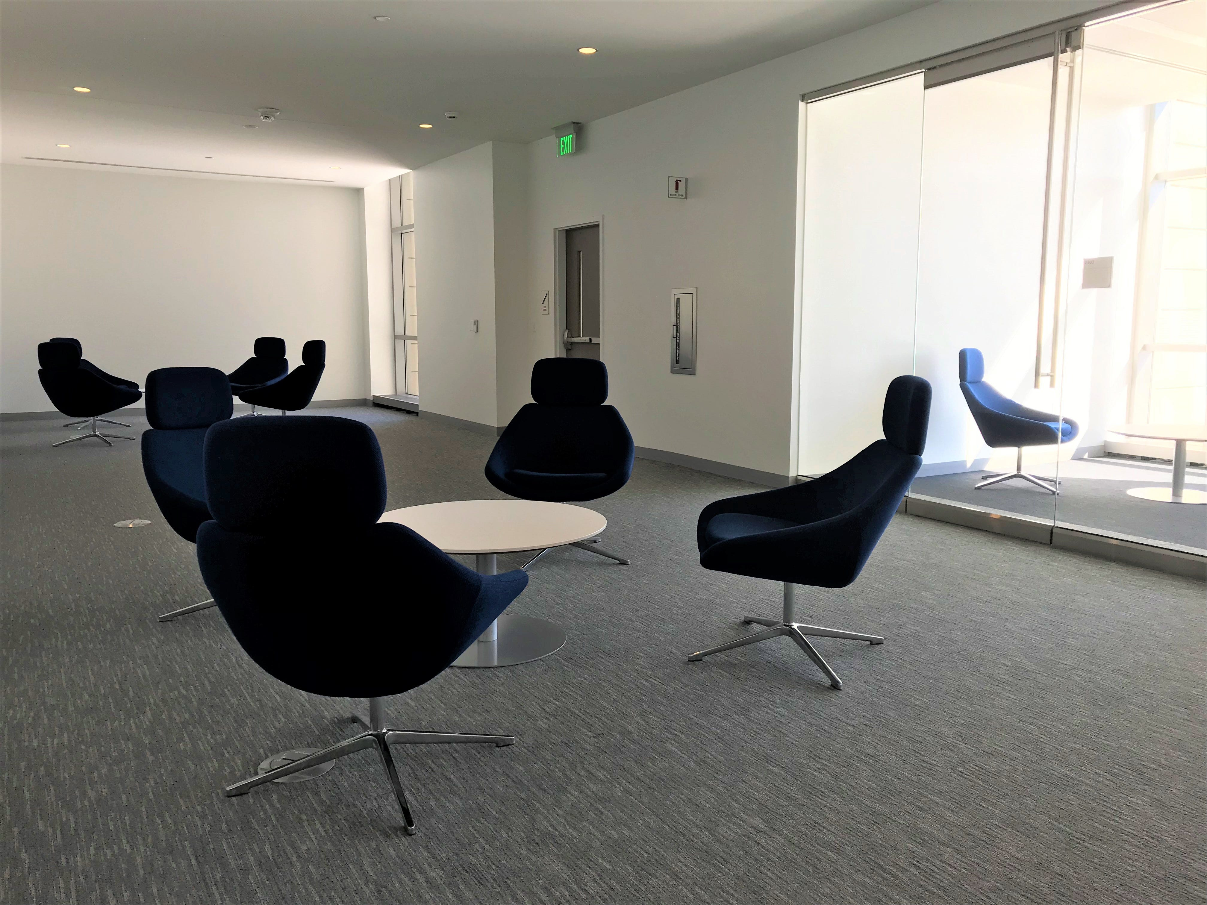 There are many spaces to collaborate in the new Sentry Insurance building.