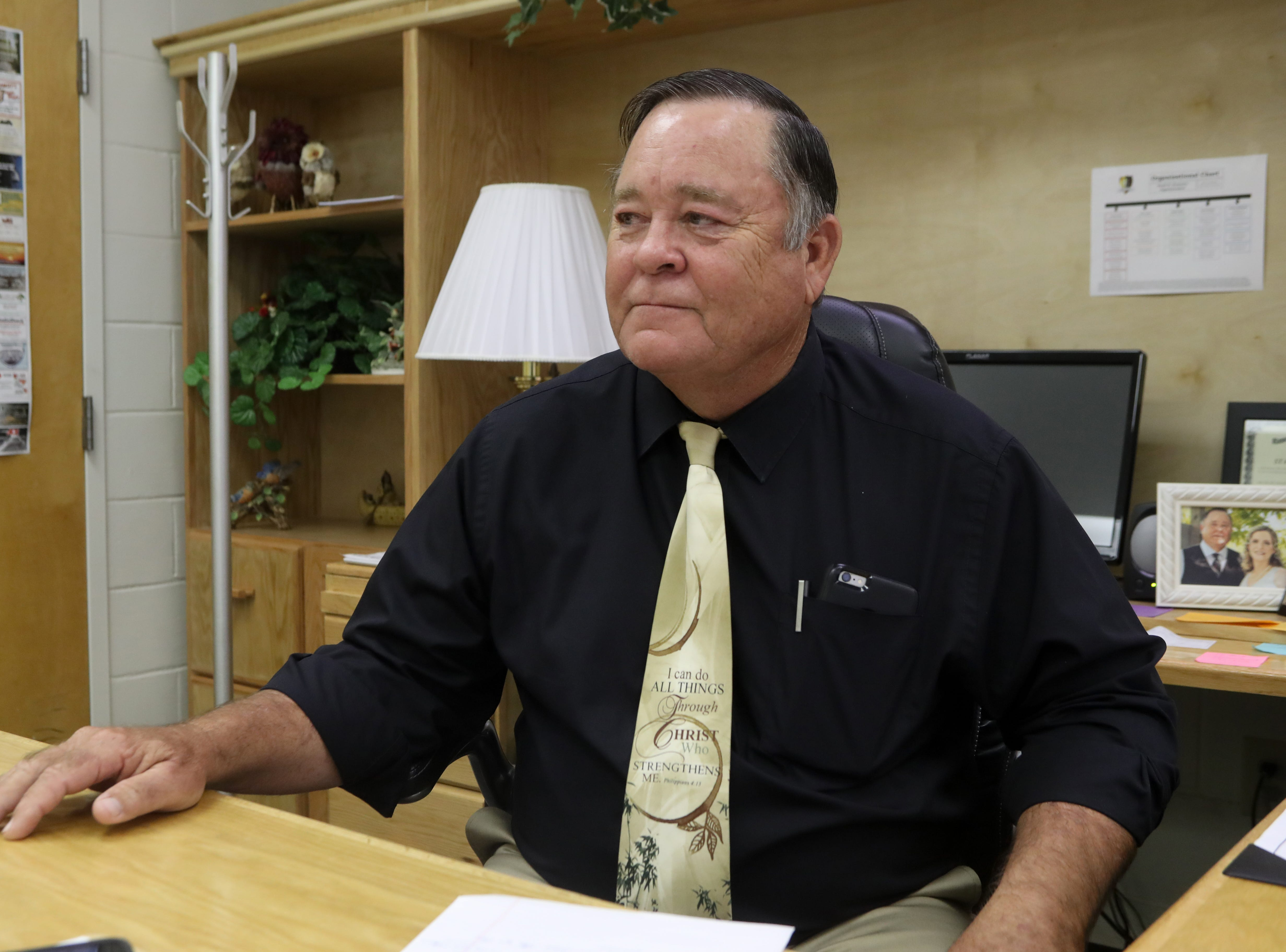 Liberty County Schools Superintendent David Summers talks about the tragic loss of Liberty County High School Head Baseball Coach Corey Crum and his wife Shana Crum, also an employee of the school district. The couple died after being electrocuted while working at the baseball field Sunday, March 10, 2019. Their son, 14, was also electrocuted but survived.