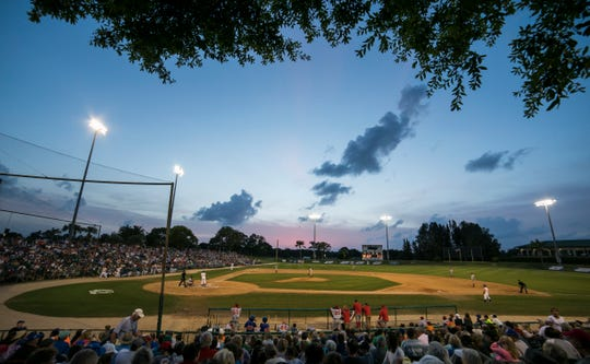 The St. Lucie Mets and the Florida Fire Frogs, a Minor League baseball team in the Florida State League in Kissimmee, play at Historic Dodgertown in front of a sellout crowd of 6,849. The 2019 Jackie Robinson Celebration Game will take place at 6:42 p.m. April 15 at Holman Stadium in Vero Beach. This year the St. Lucie Mets will play host to the Fort Myers Miracle.
