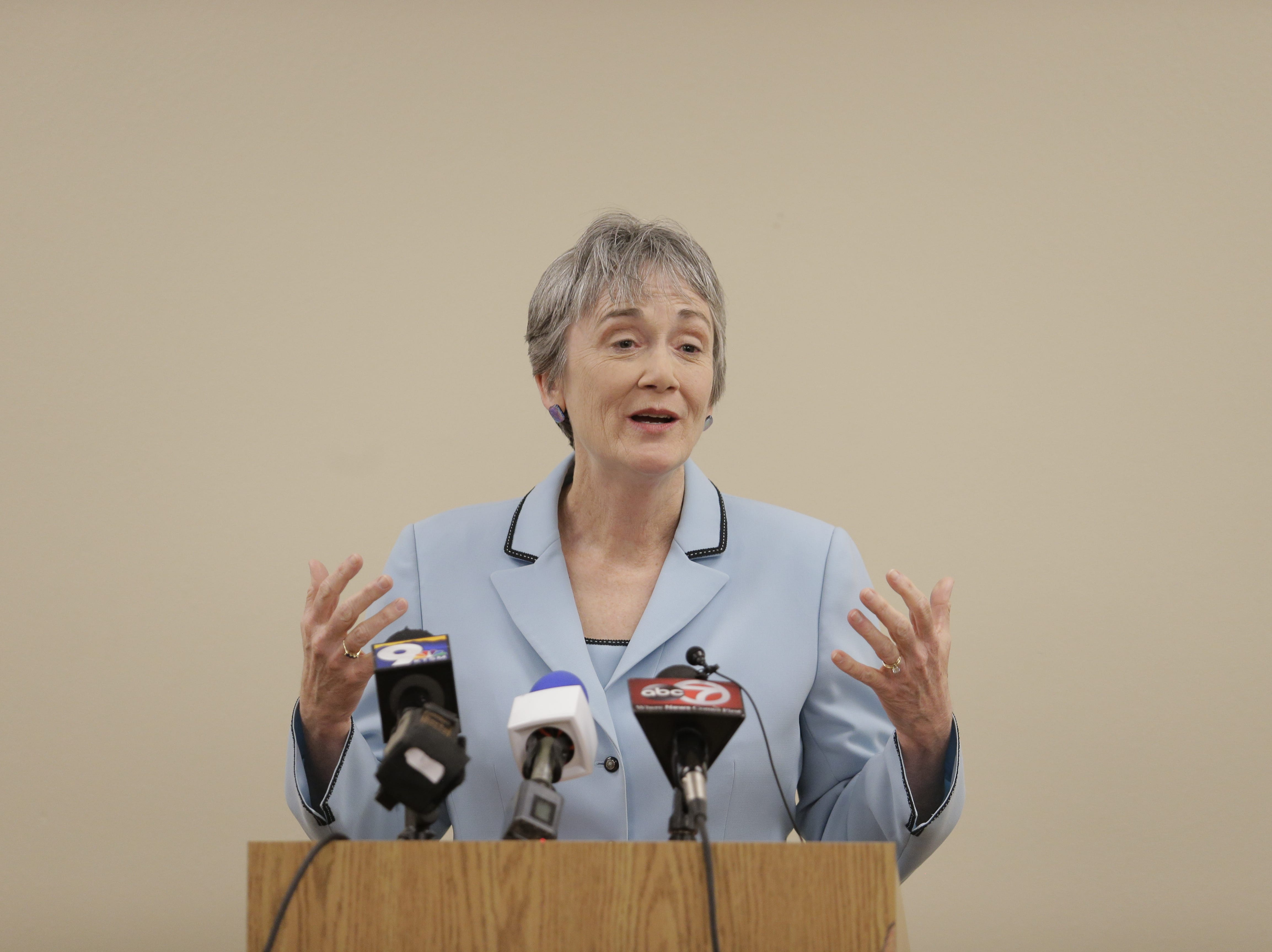 Heather Wilson, U.S. Secretary of the Air Force, is expected to become the next president of the University of Texas at El Paso.