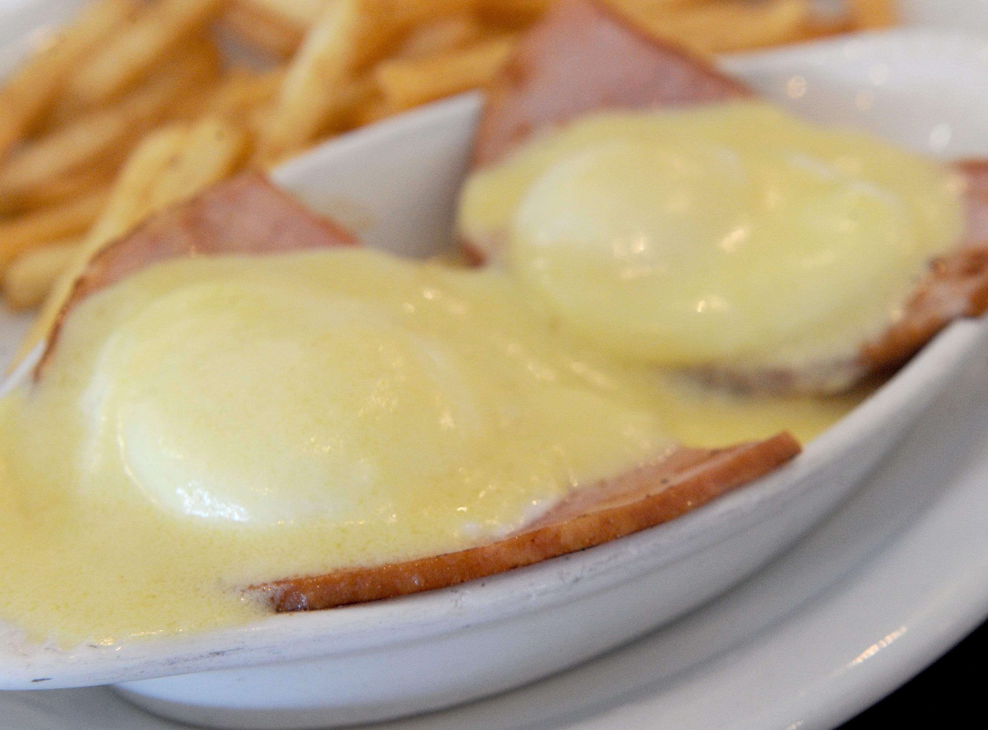 Eggs Benedict  at Jessica's Cafe one of the Camarillo restaurant's best sellers.