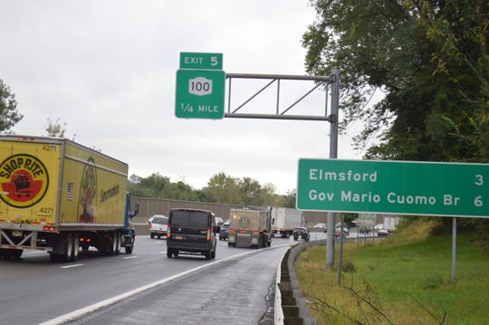 It took more than four months to obtain documents regarding new road signs for the Gov. Mario M. Cuomo Bridge.
