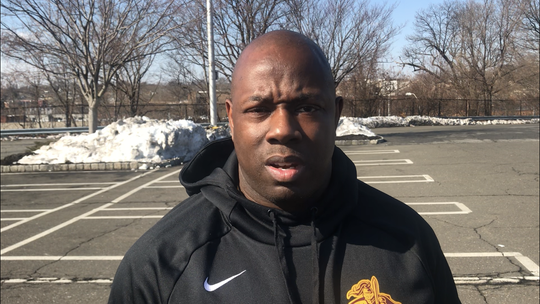 Mount Vernon firefighter Ernest Richardson on March 11, 2019
