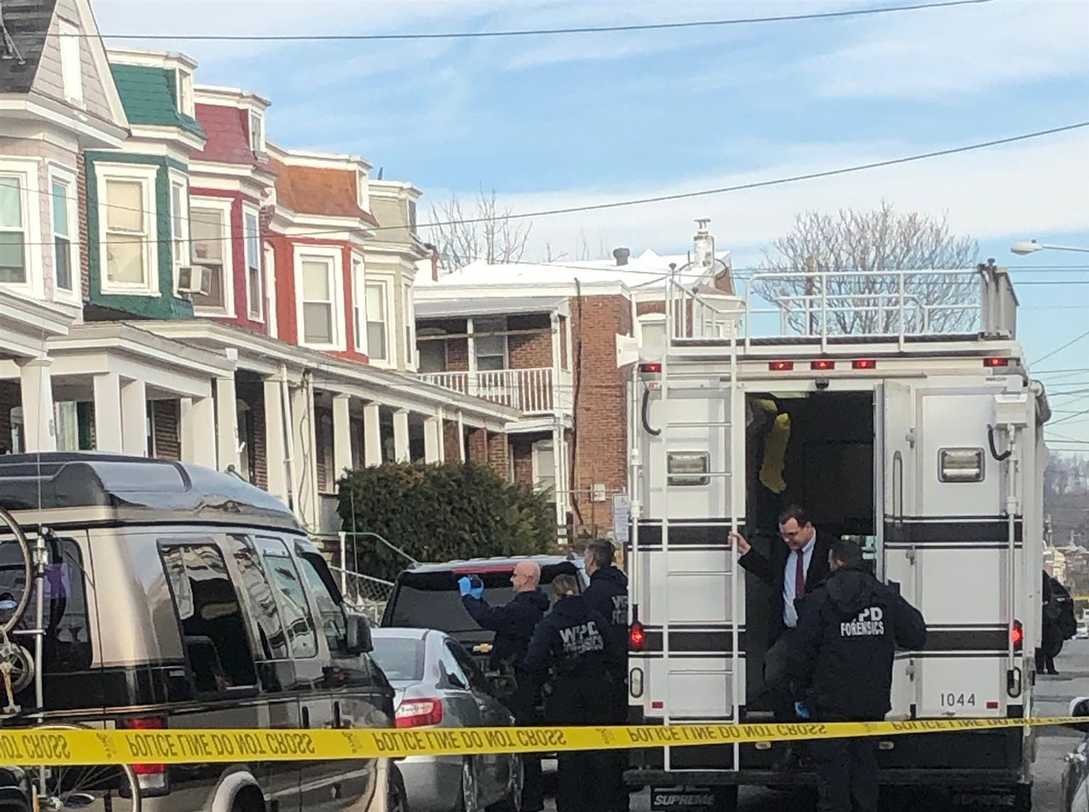 Wilmington police are investigating a double homicide Monday, March 11, 2019.