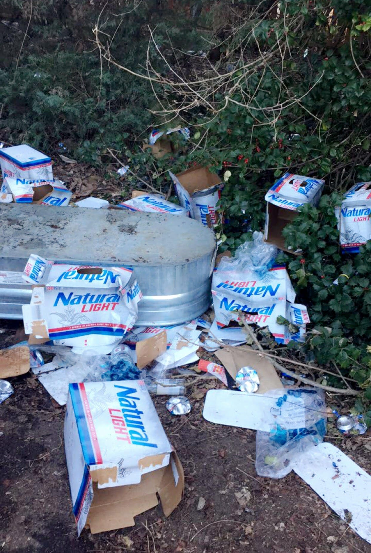 """In the ordinance, excessive littering is defined as """"20 or more items of trash lying on the ground or pavement, including, but not limited to, discarded beverage cans, beverage bottles, beverage cups, and beverage packaging materials."""""""
