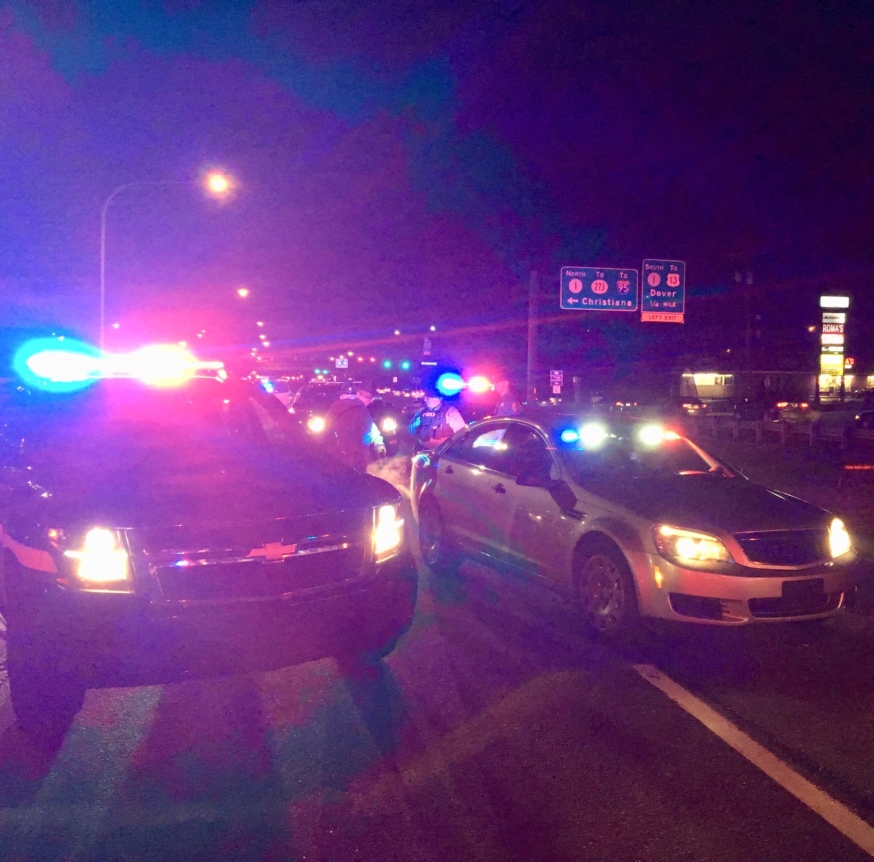 'Serious' crash involving pedestrian closes U.S. 40 in Bear