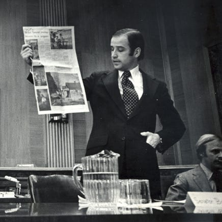 Joe Biden's early days in Delaware politics hinted at his national promise