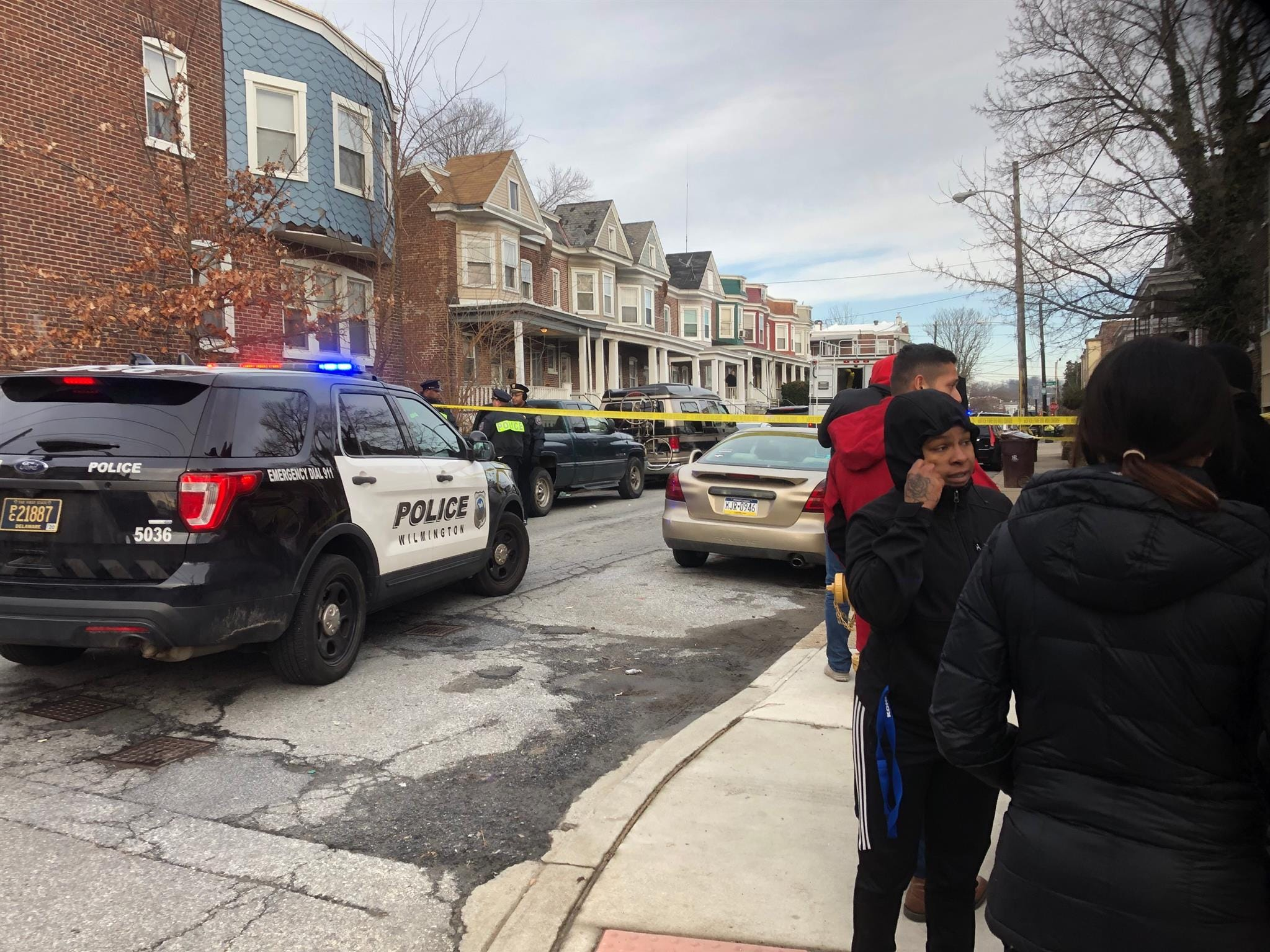 A neighbor said two teens were killed in a home invasion on West 26th Street in Wilmington on Monday, March 11, 2019.