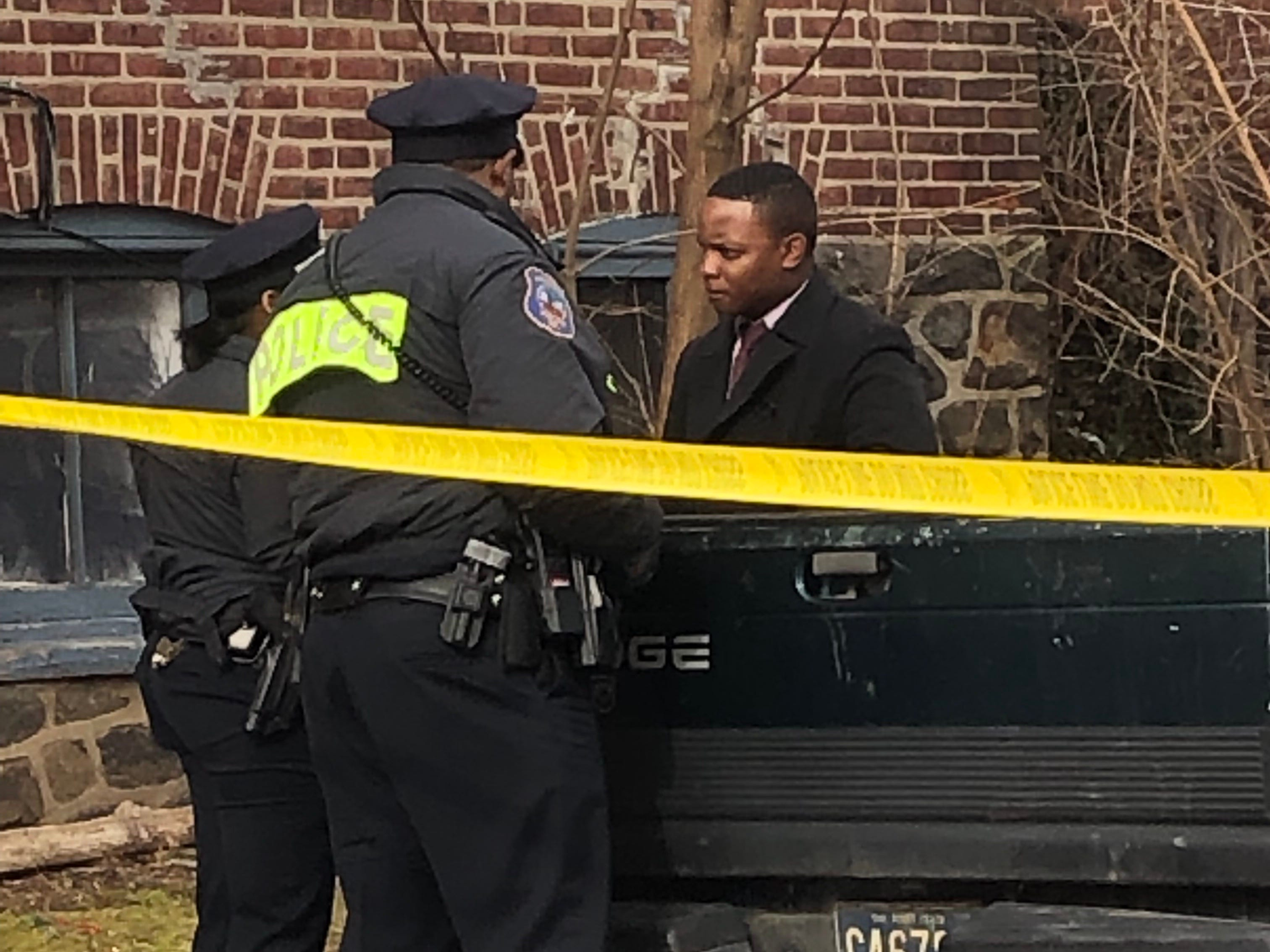 Wilmington police are on the scene of a double homicide Monday, March 11, 2019.