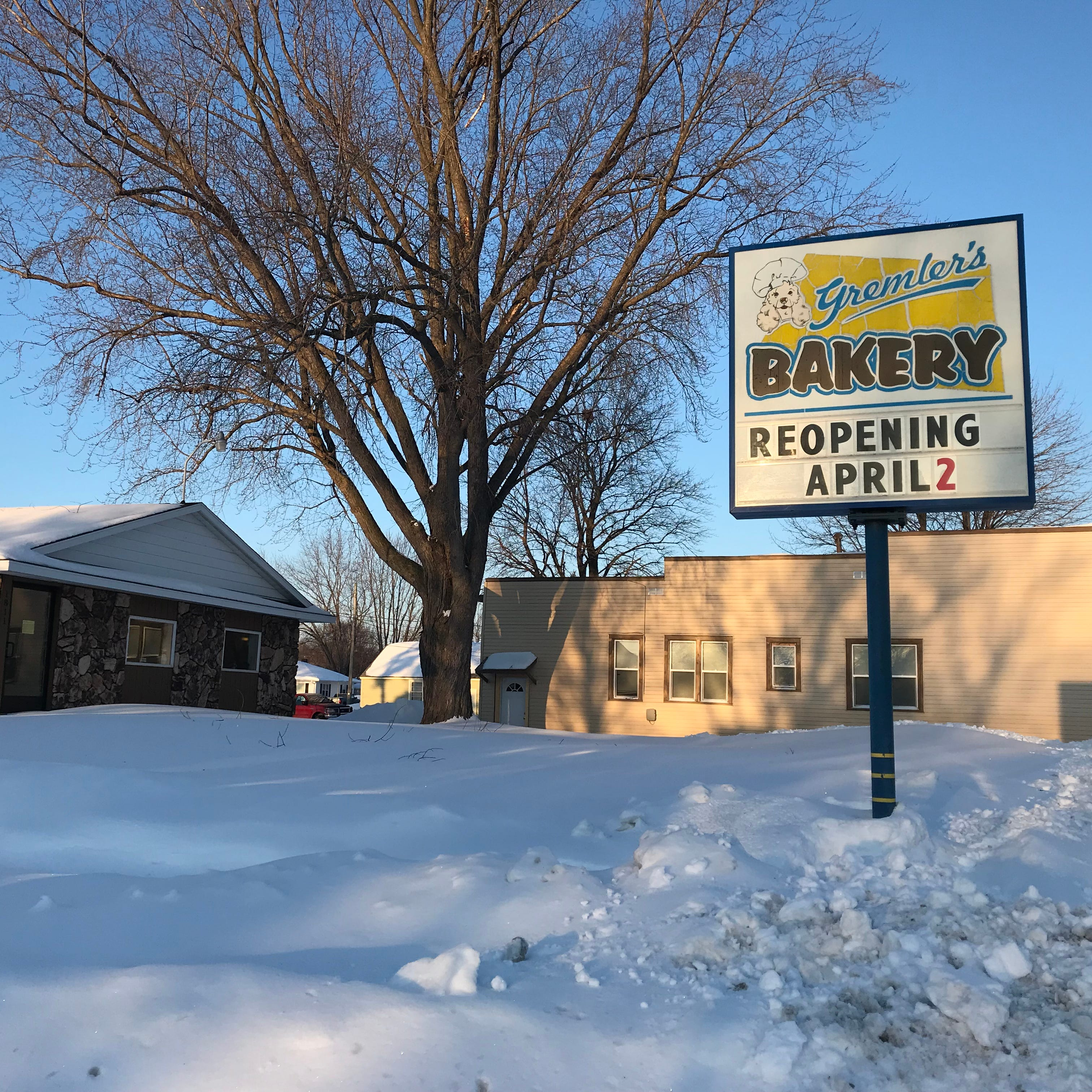 Gremler's Bakery to reopen for the season April 2 in Wisconsin Rapids