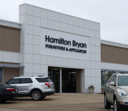 Hamilton Bryan, located on Kemp Blvd., was one of three business that lost windows after an alleged suspect used a large metal pipe to break the windows Friday morning.