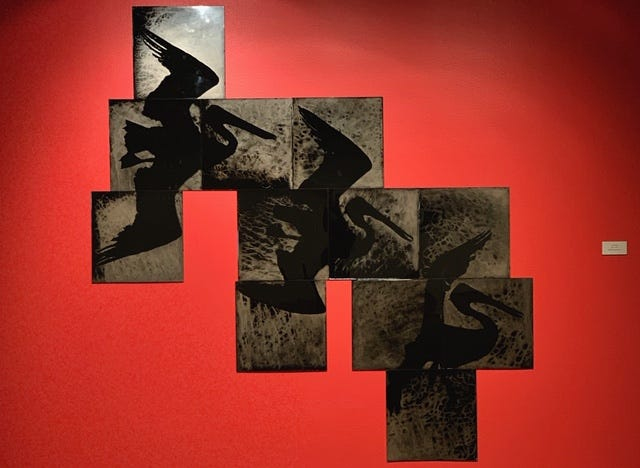 """Photographer S. Gayle Steven's """"Flight – 12"""" in the show """"Diversity: Alternative Paths to Contemporary Photography"""" on exhibit today and Saturday with a 6 to 8 p.m. tonight."""