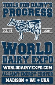 The World Dairy Expo comes to Madison Oct. 1 - 5, 2019.