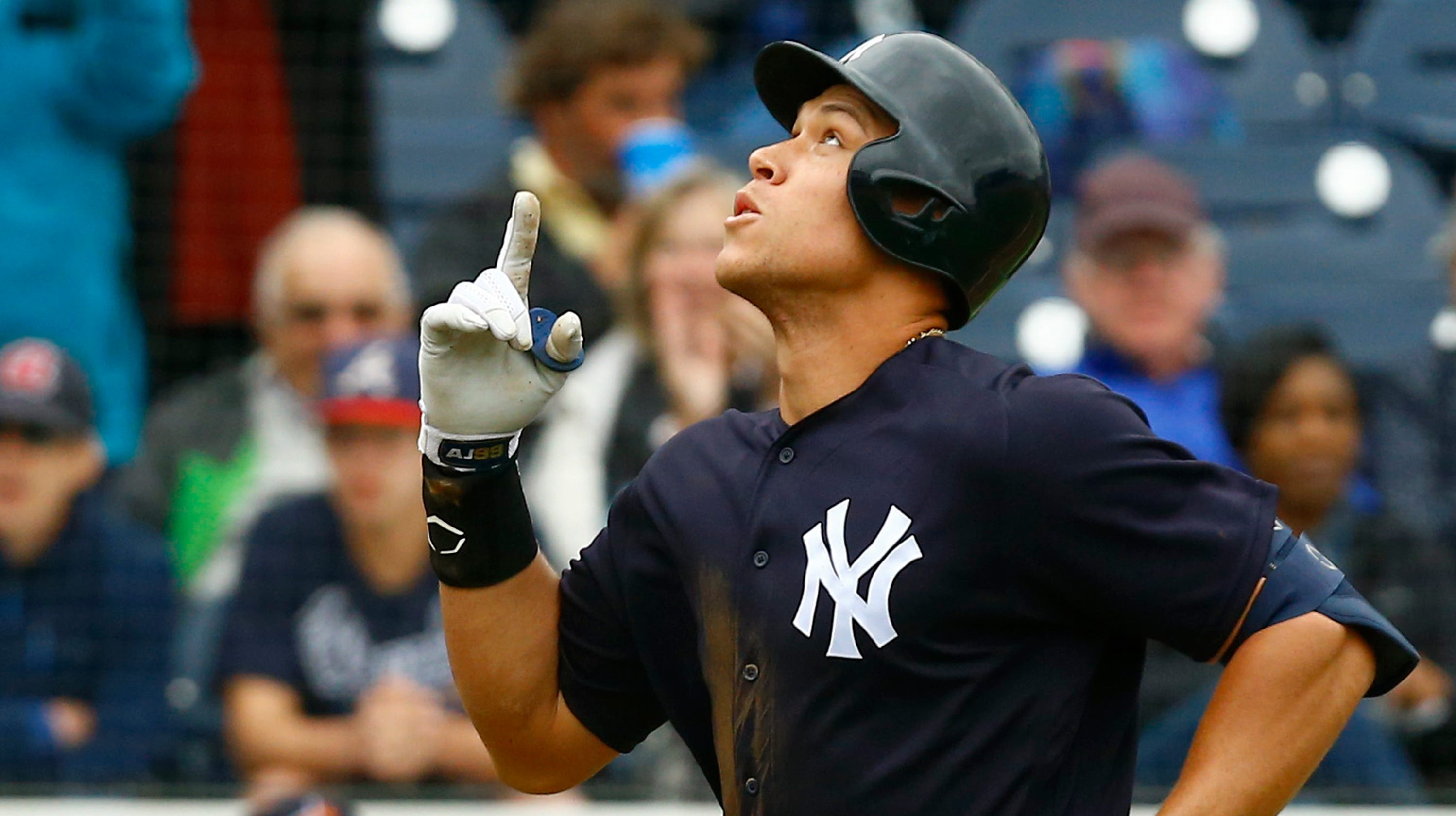 Mlb 2019 Aaron Judge Learns About Leagues Broken Salary