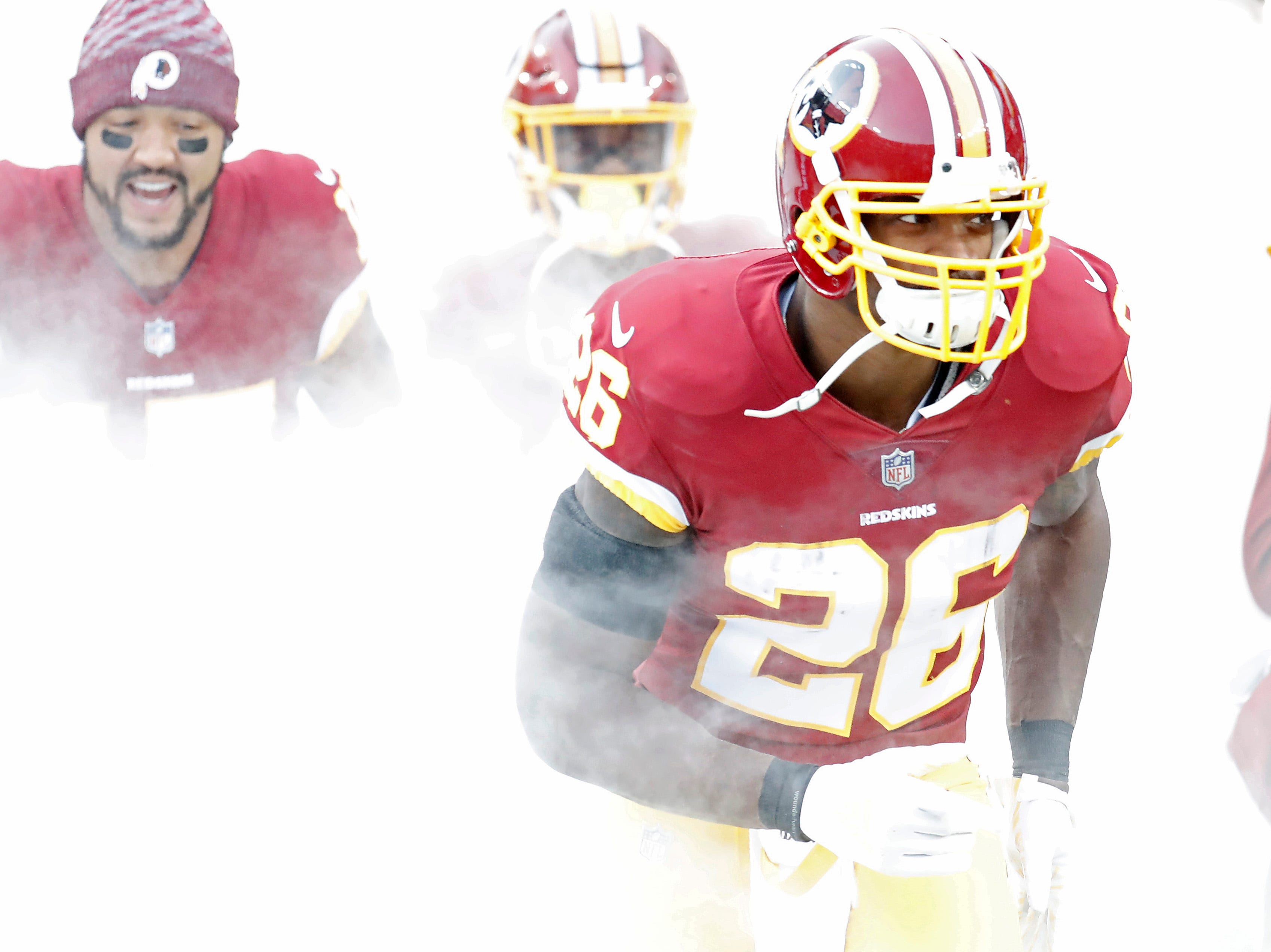 25. Adrian Peterson, RB, Redskins: Agreed to deal with Redskins