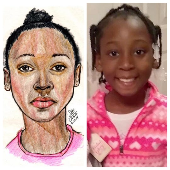 A girl found dead in a duffel bag in Los Angeles County has been identified as 9-year-old Trinity Love Jones.