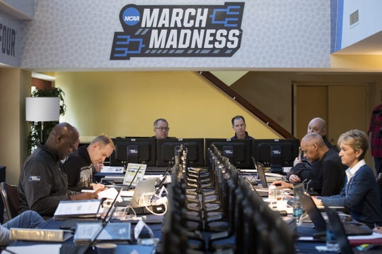 The NCAA men's basketball tournament selection committee makes their picks in 2017. The members will once again be tasked with determining a heavily-debated field of 68.