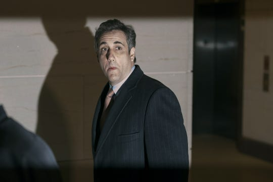 Michael Cohen in the U.S. Capitol basement on March 6, 2019.