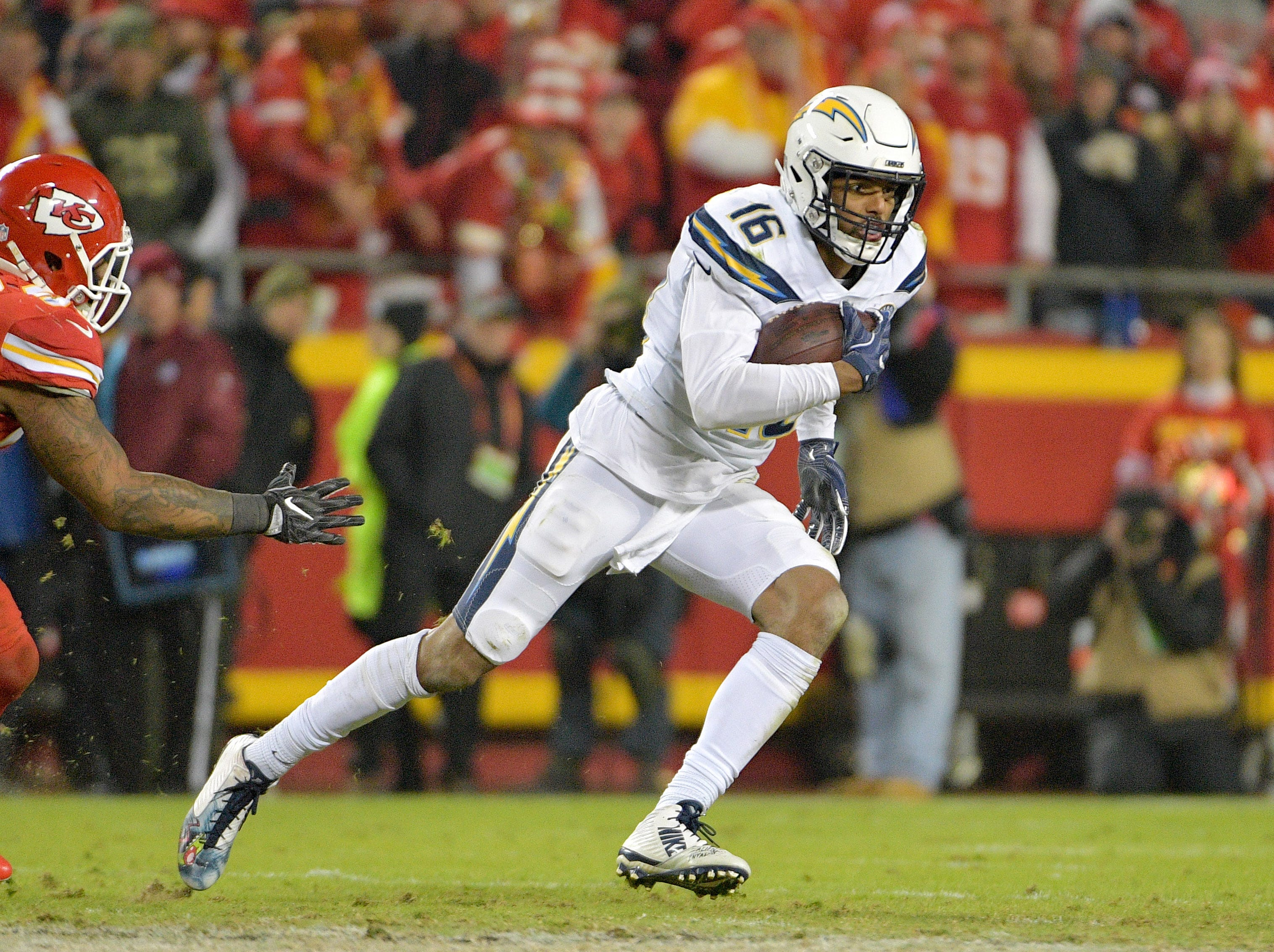 19. Tyrell Williams, WR, Chargers: Agreed to deal with Raiders
