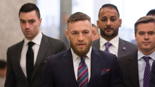 Alleged robbery victim: Conor McGregor went in for handshake before smashing phone