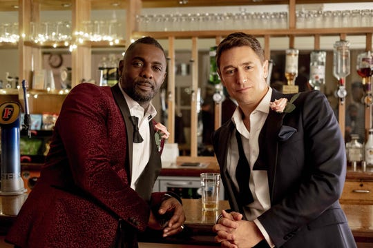 Charlie (Idris Elba) is struggling to pay his bills as a DJ, and accepts a job from his movie-star best friend (JJ Feild) as his kid's manny.