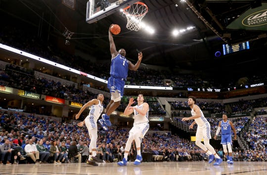 Duke star Zion Williamson and the Blue Devils got the best of Kentucky in an early-season matchup.
