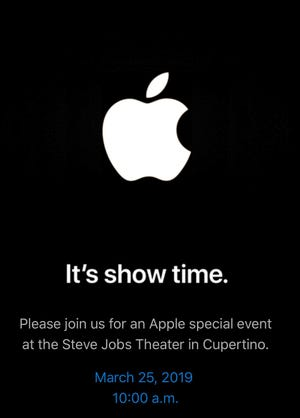 Apple is hosting its next event on March 25.