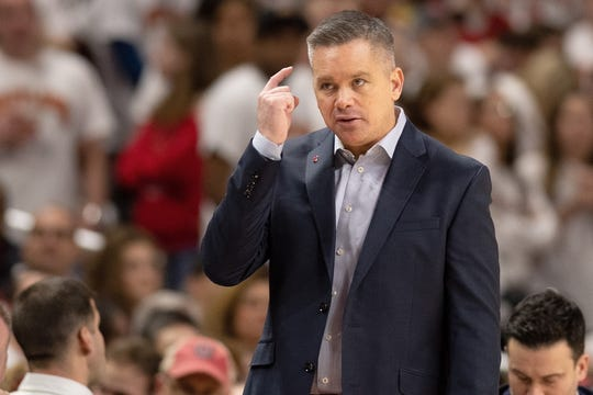 Ohio State men's basketball coach Chris Holtmann talked Wednesday afternoon about the importance of practice for a young, emerging team like the one he has for the 2019-20 season.