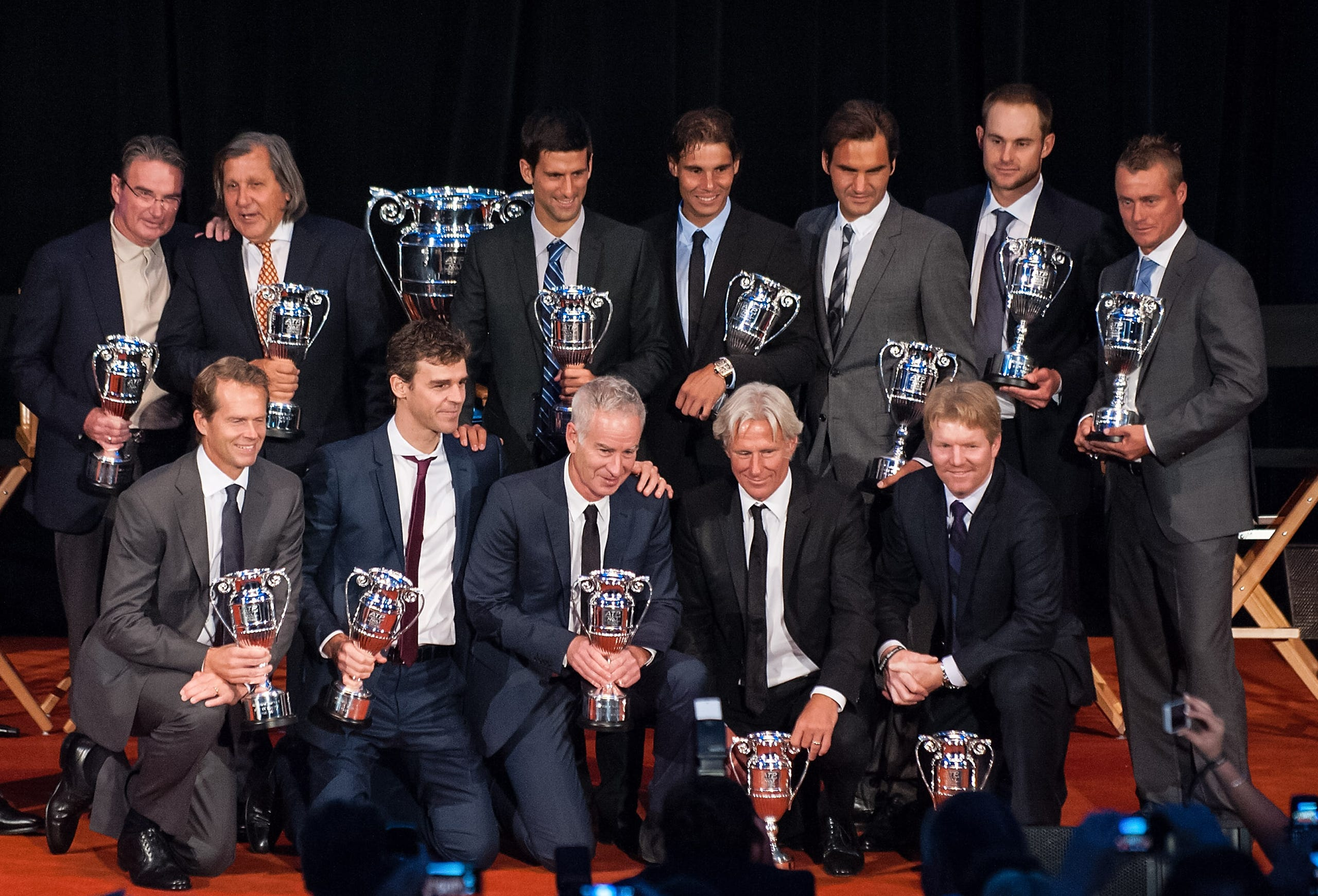 9c3d4091333 Tennis  Men s singles players who have held the No. 1 ranking in ATP Tour  history