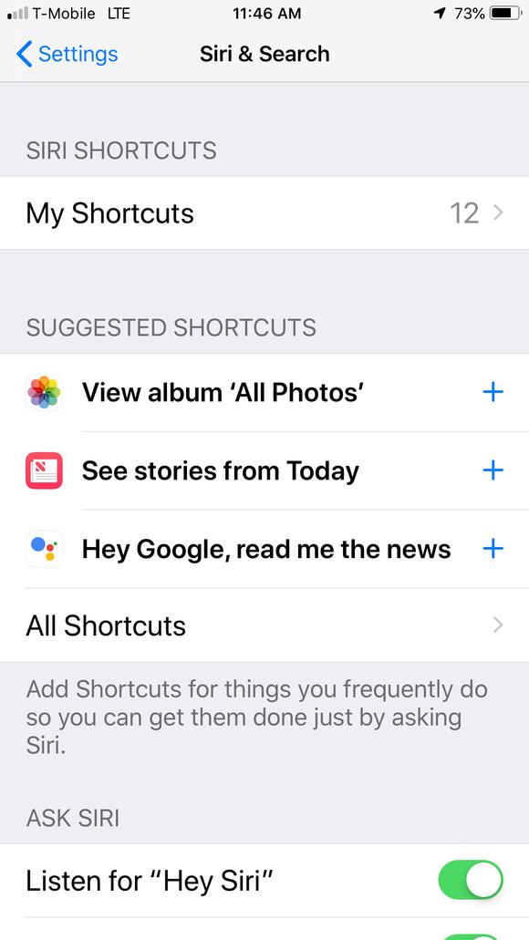 Screenshot of Apple General settings