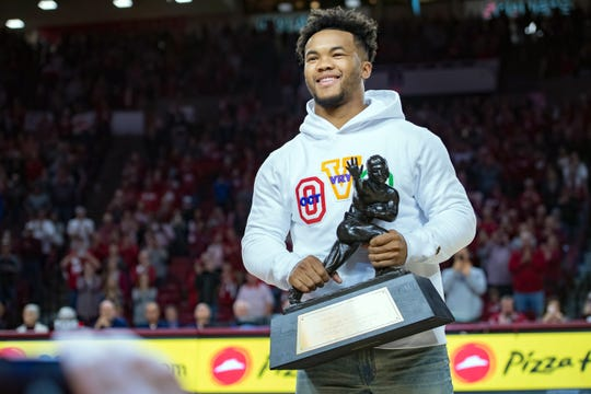 The road to the Heisman Trophy for Oklahoma's Kyler Murray started with coaching from his father, Kevin.