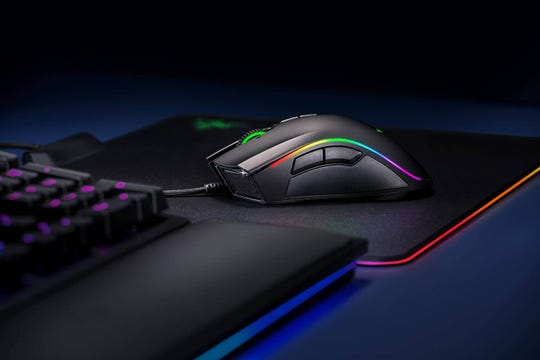 Get a grip with a gaming-grade mouse that offers greater precision, speed and comfort.