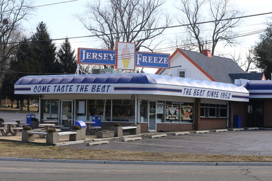 Exterior of Jersey Freeze in Freehold, NJ Tuesday, March 12, 2019.