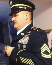 Retired Sgt. 1st Class James Hammer is shown in this undated photo.