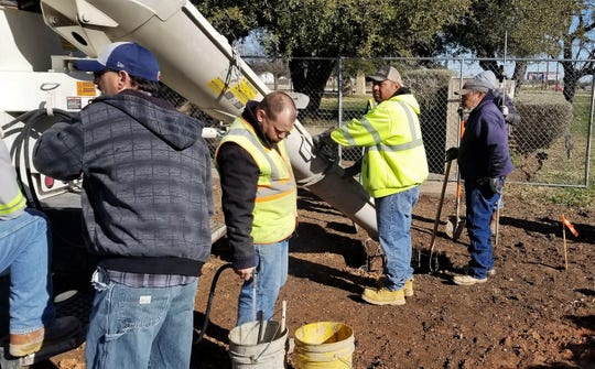 Ground was broken last fall and work has begun on a reinvented Memorial Park near the Dyess AFB main gate. It will honor all Dyess airmen who died serving their country.