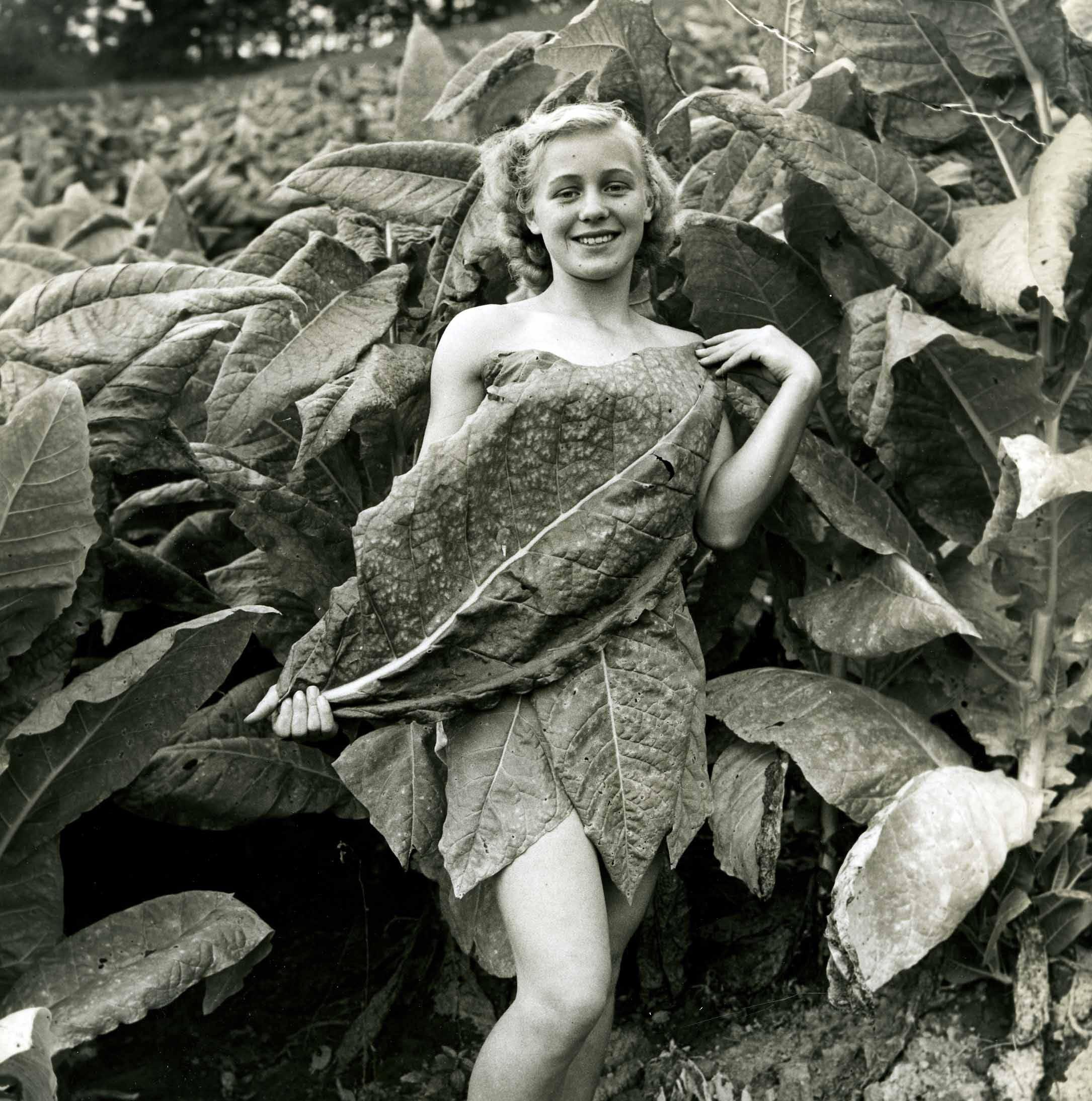 """Portrait of the Past: """"Burley beauty,"""" c. 1940"""