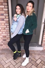 Britney Laserinko, left, was seriously injured and Harper Stantz died after being struck by an alleged drugged driver on Binghamton's West Side.