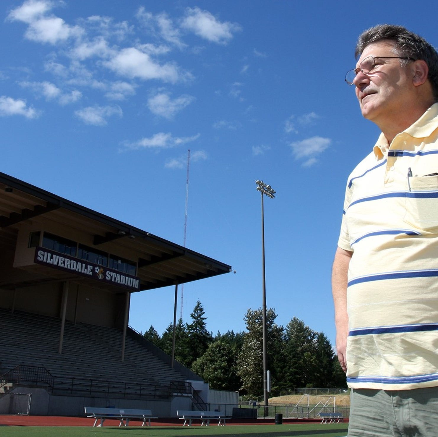 Jim Ferate, the guy who's fixed everything in Central Kitsap