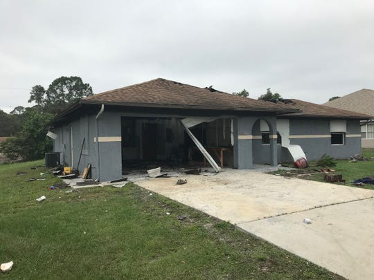 Emerson Drive house fire under investigation by Palm Bay Fire Rescue.